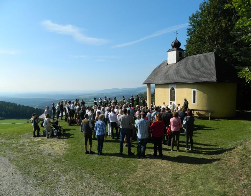 Hubertusmesse mit Jägerfrühschoppen in Hohenau / Gemeinde Dechantskirchen